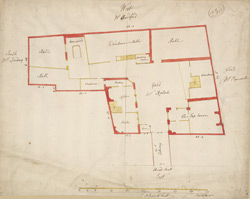 [Plan of property on Bread Street] 119E